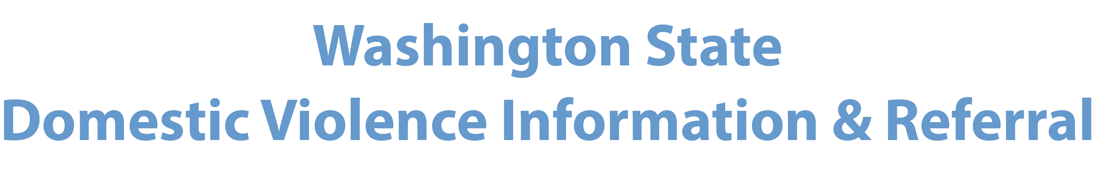 Washington Information and Referral